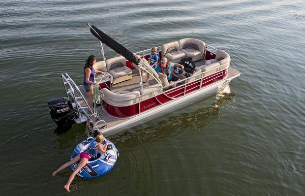 2021 Landau Island Breeze 212 Cruise Sport Rear Lounge
