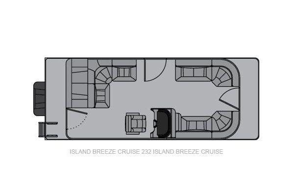 2021 Landau Island Breeze 232 Cruise