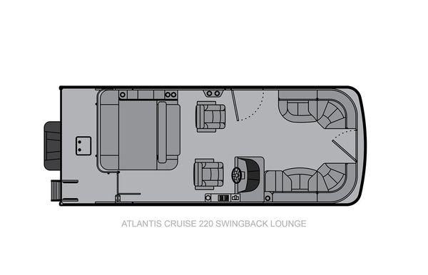 2021 Landau Atlantis 220 Cruise Swingback Lounge