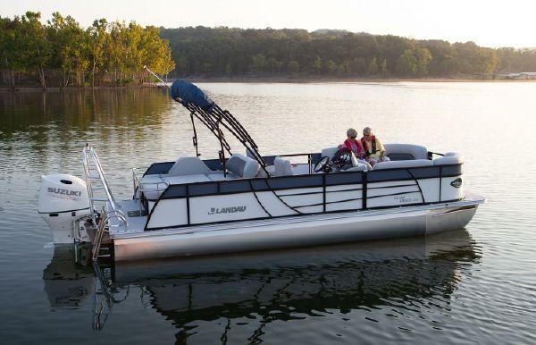 2021 Landau Island Breeze 232 Cruise Rear Lounge