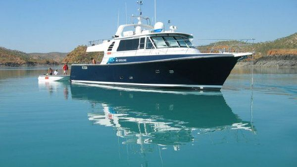 Peter Milner Yachts Custom Adventure Cruiser Profile