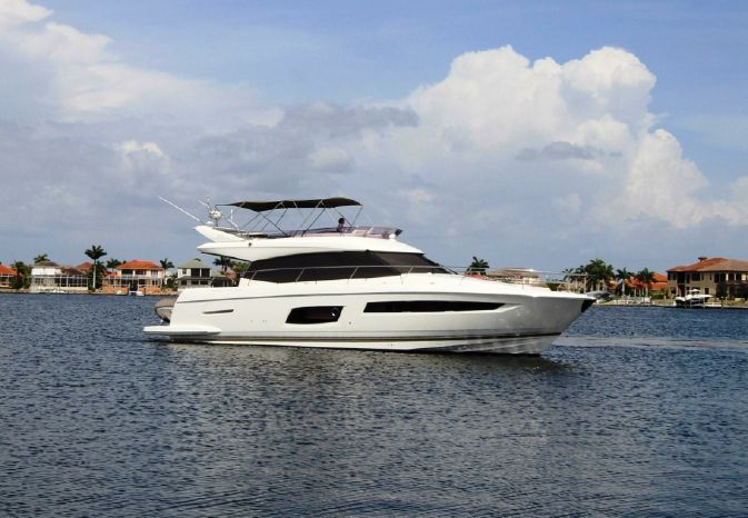 2015 Prestige 550 Fly Bridge