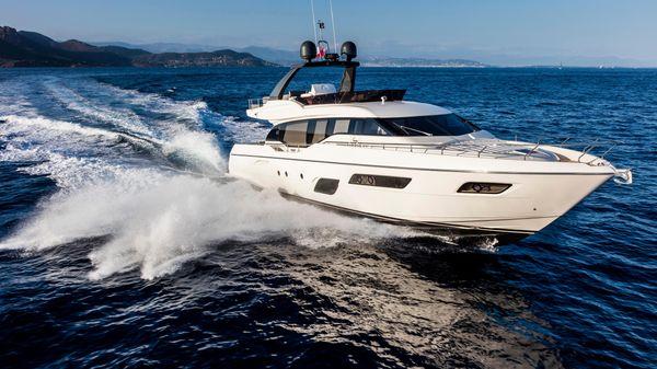 Ferretti Yachts 700 Manufacturer Provided Image: Ferretti Yachts 700
