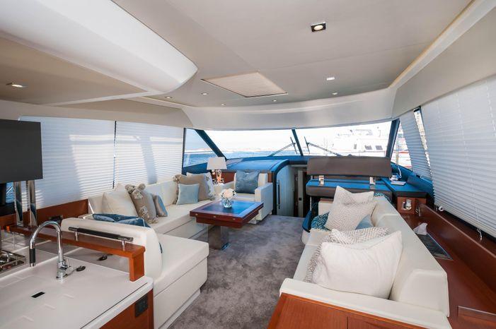 2015 Prestige 550 Flybridge BoatsalesListing Buy