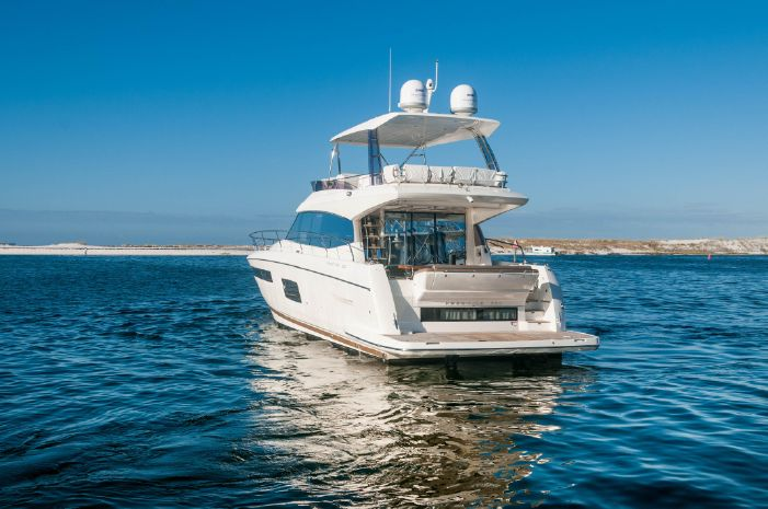 2015 Prestige 550 Flybridge For Sale BoatsalesListing