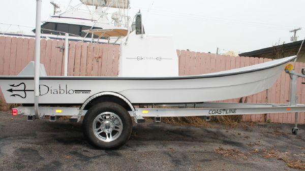 Diablo Boat Works Flats Boat
