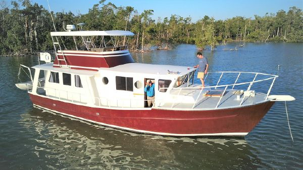 Bruce Roberts Custom Steel Trawler