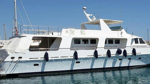 Custom Ex Patrol Boat converted