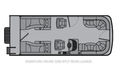 Landau Signature 2200 Cruise Sport Rear Lounge image