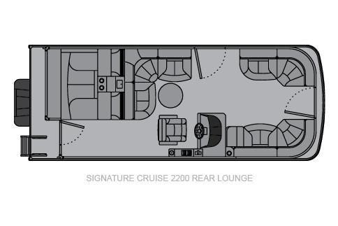 Landau Signature 2200 Cruise Rear Lounge image