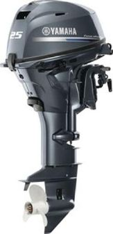 Yamaha Outboards F25LWTC image