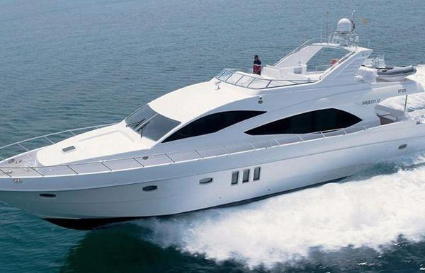 2018 Majesty Yachts Majesty 77