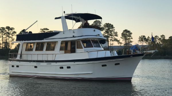 Marine Trader 50 Stabilized Trawler