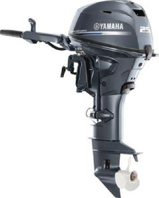 Yamaha Outboards F25SMHC - main image