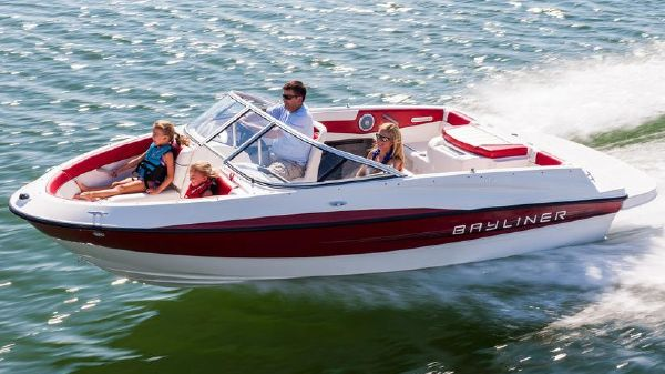 Bayliner 185 Bowrider (Red) Manufacturer Provided Image