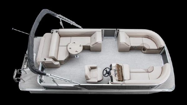 Tahoe Pontoon LTZ Cruise Rear Bench - 20'