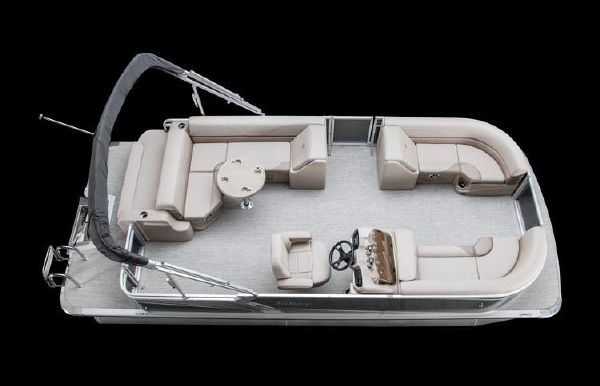 2019 Tahoe Pontoon LTZ Cruise Rear Bench - 22'
