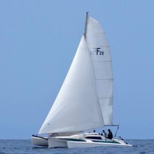 Corsair Corsair 28 #397 Under Sail