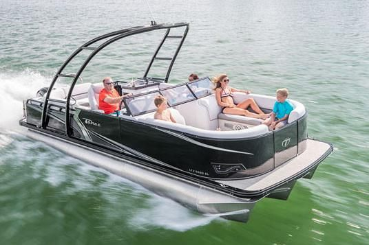 2019 Tahoe Pontoon LTZ Windshield - 22'