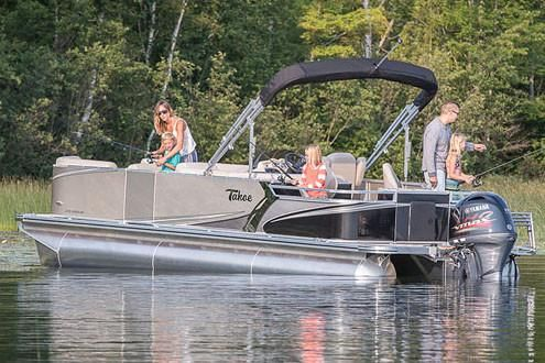 2019 Tahoe Pontoon LTZ Quad Fish - 20'