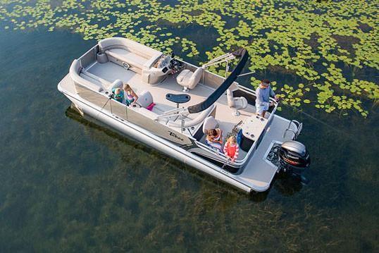 2018 Tahoe Pontoon LTZ Rear Fish - 22'