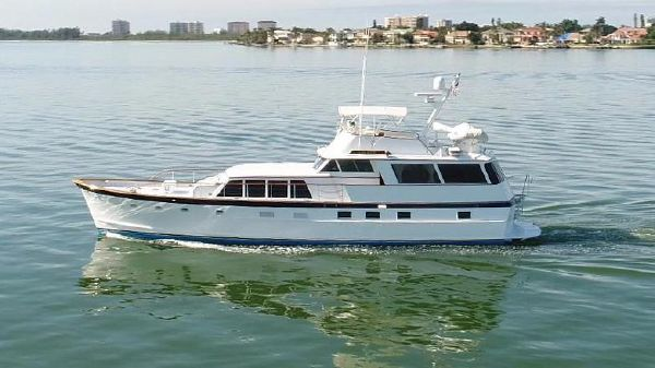 Burger 64 Flush Deck Motor Yacht Port Profile