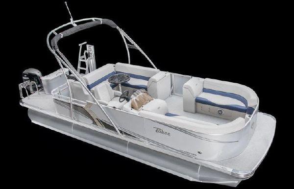 2018 Tahoe Pontoon LT Cruise Rear Bench - 24'