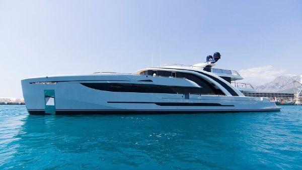 Steel Super Yacht 49m