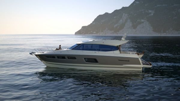 Prestige Yachts 560 S Port Side