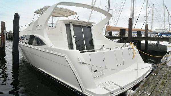 Carver 36 Mariner Port Side