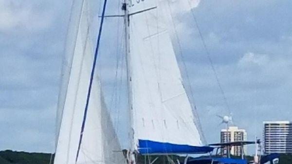 Sailboat Custom Under sail