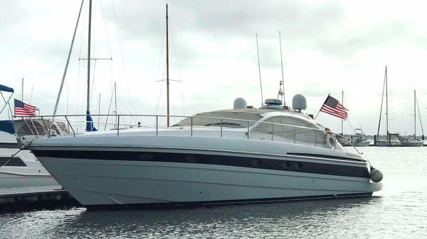 Pershing 52 Port Side