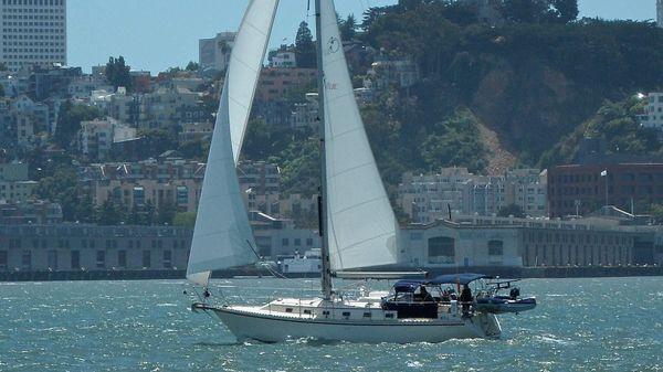 Caliber 40 LRC Topaz sailing SF Bay