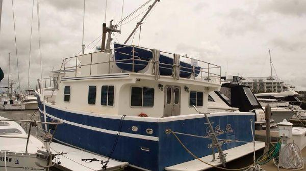 Apple Island 45 Pilothouse Trawler