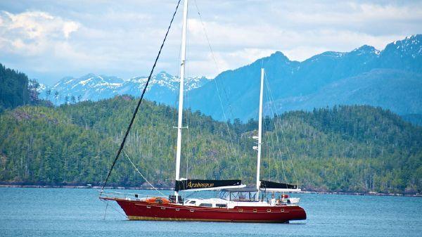 Irwin Custom 65' At Anchor