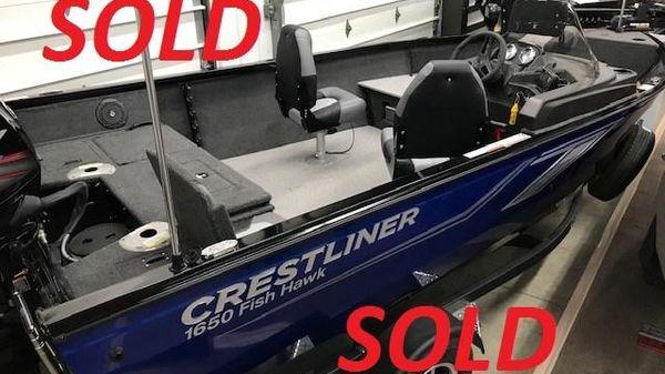 Crestliner 1650 Fish Hawk S/C