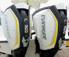 Evinrude E-TEC G2 300hp 25 inch  Shaft  Direct Injected 2-Stroke  Demos with Factory Warranty  Counter Roatating Pair