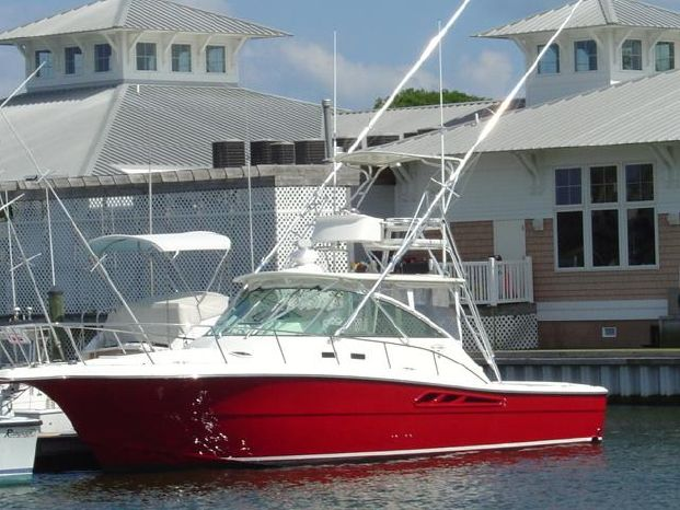 2005 Rampage 38' Express w/370 hours