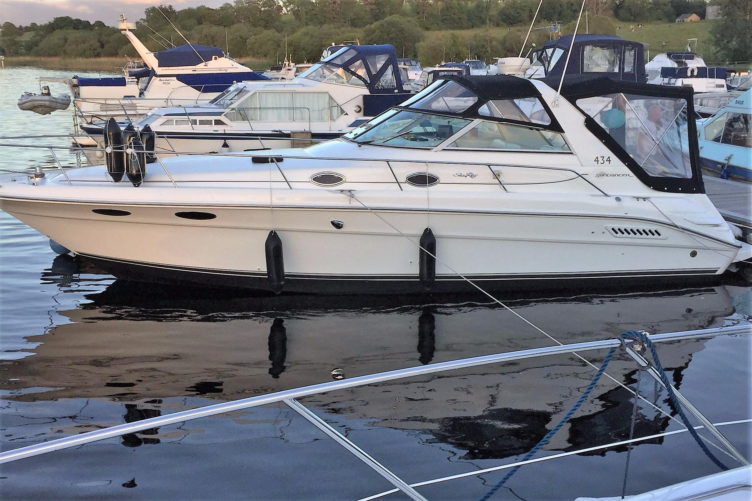 Sea Ray 1996 330 Wiring Diagram Triton Boats Trailer Wire Sundancer United Kingdom Bj Marine Rh Bjmarine Net Battery Switch