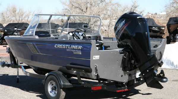 Crestliner 1650 Fish Hawk WT