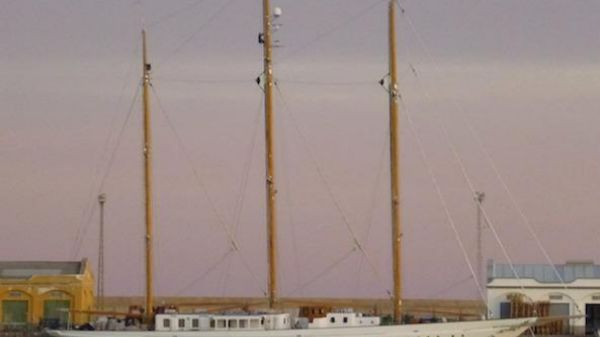 De Vries Lentsch Three Mast Steel Schooner