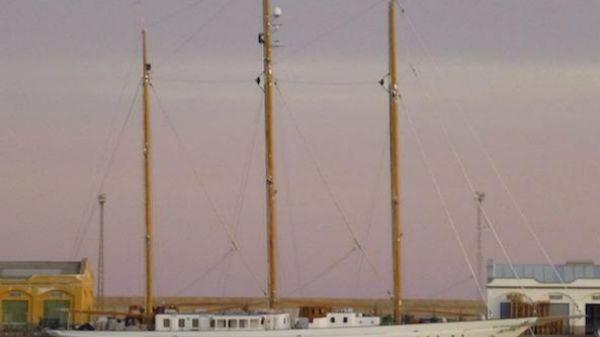 De Vries Lentsch Three Mast Steel Schooner