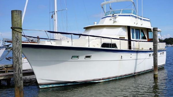 Hatteras 53 Classic MY repowered 2010