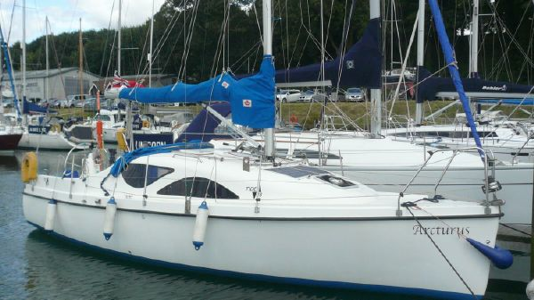 Tide Craft 28 Afloat