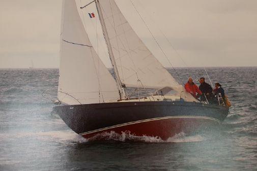 Classic Steel long keel Sloop image