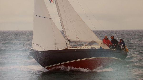 Classic Steel long keel Sloop