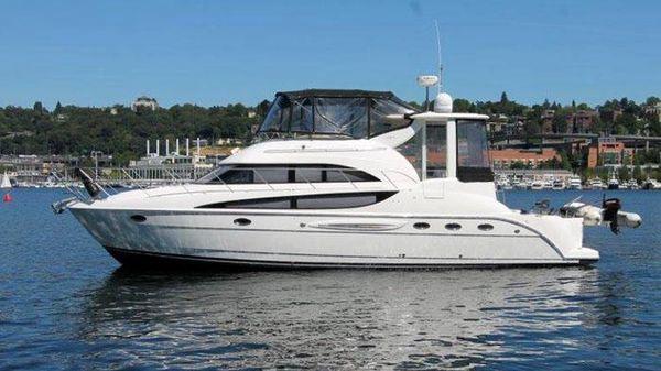Meridian 459 COCKPIT MOTORYACHT Meridian 459 Motoryacht - Exterior Profile