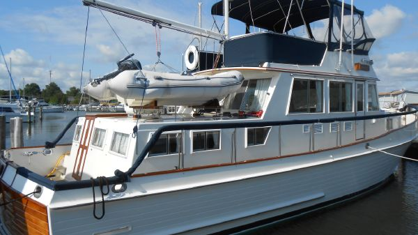 Grand Banks 46 Classic Stabilized