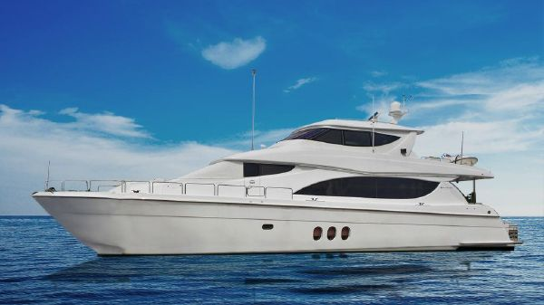 Hatteras Enclosed Flybridge