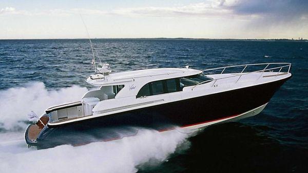 Vikal Fast Motor Yacht At speed